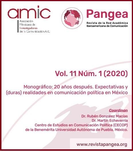 Ver Vol. 11 Núm. 1 (2020): Monográfico: 20 años después. Expectativas y (duras) realidades en comunicación política en México